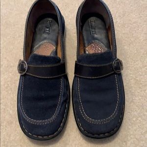 Born leather loafers